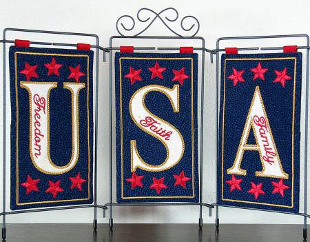 USA Table Top Display