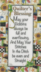 Magnet Quilters Blessing Bobbins