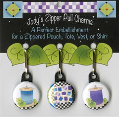 Zip Charm Set - Spools