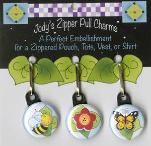 Zip Charm Set - Nature Lovers
