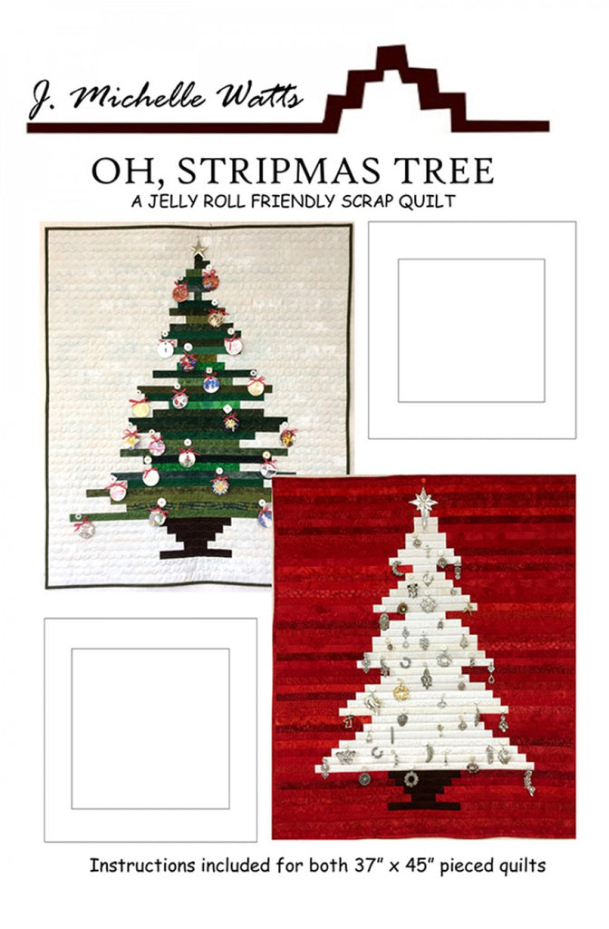 Oh Stripmas Tree Quilting Books Patterns And Notions Simple Christmas Tree Quilt Pattern