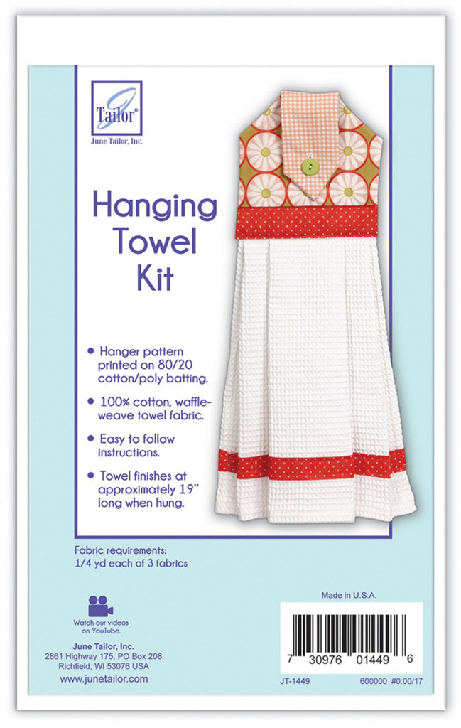 Quilt As You Go Hanging Towel Kit