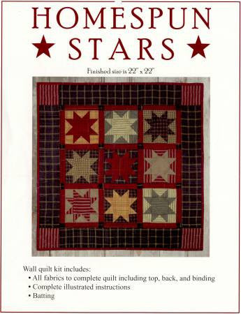 Homespun Stars Kit
