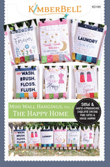 Mini Wall Hangings The Happy Home - Sewing Version