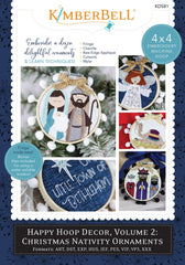 Happy Hoop Decor Volume 2 Christmas Nativity Ornaments