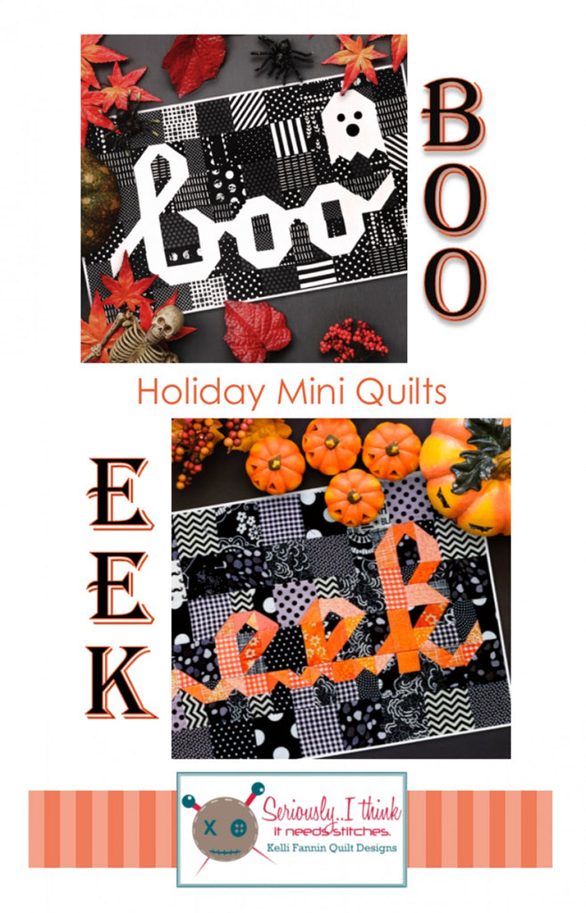 Boo Eek Mini Quilt Series