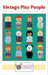 Vintage Play People Quilt Pattern