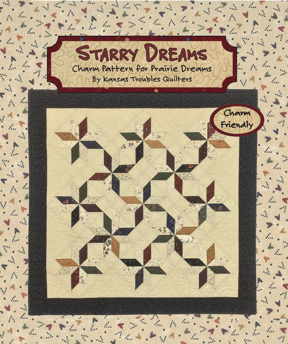 Starry Dreams Charm Quilt