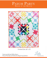 Patch Party - Block of the Month Quilt Pattern