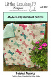 Twisted Biscuits Quilt Pattern
