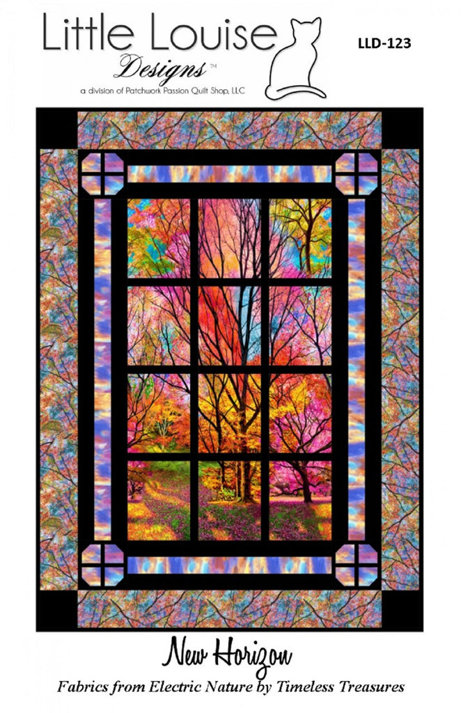 New Horizon Window Quilt Pattern