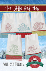 Wintery Towels