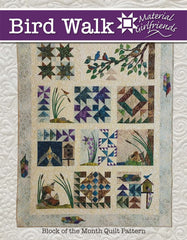 Bird Walk Block of the Month Quilt Pattern