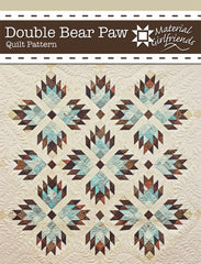 Double Bear Paw Quilt Pattern