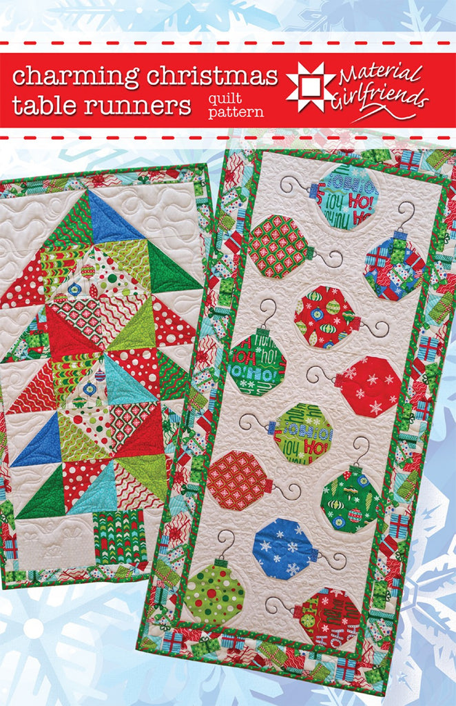 Christmas Table Runner Quilt.Charming Christmas Table Runners