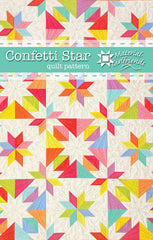 Confetti Star Quilt Pattern