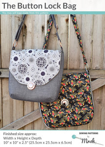 The Button Lock Bag