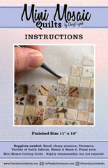 Mini Mosaic Quilts Cutting Guide And Instructions