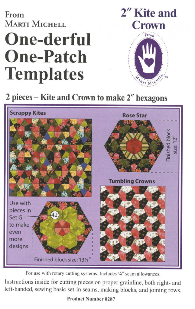 Kite and Crown One-derful One Patch Templates