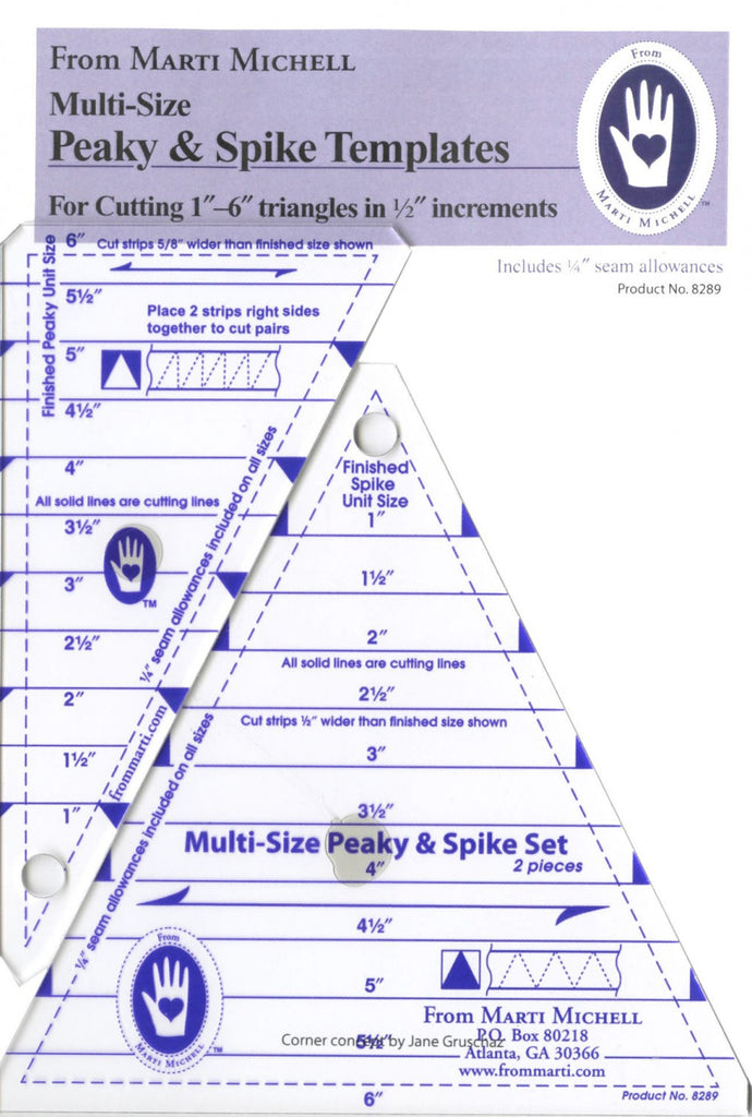 Peaky and Spike Multiple Size Rulers