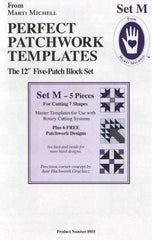 Perfect Patchwork Templates Set M 5-Patch