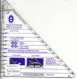 Diagonal Set Triangle Ruler