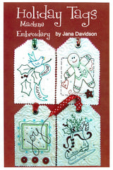 Holiday Tags Machine Embroidery