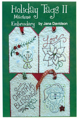 Holiday Tags II Machine Embroidery