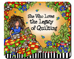 Quilt Legacy Mouse Pad