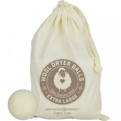 Light Wool Dryer Balls each bag includes 4 reusable dyer balls