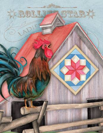Package Note Cards - Quilt Chicken Coop Rolling Star
