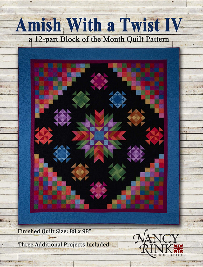Amish With A Twist Iv Bom Pattern Booklet