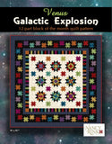 Galactic Explosion 12-Part BOM Pattern Booklet