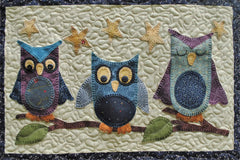 Tweets & Twinkles BOM - Block 8 Sleepy Owls