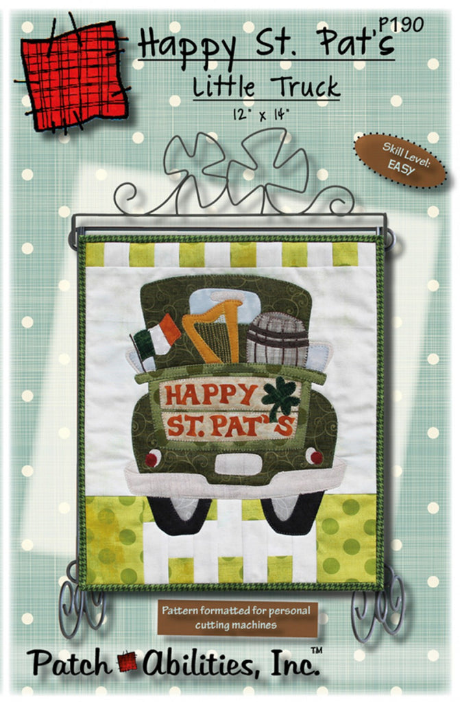 Happy St Pats Day Truck Pattern