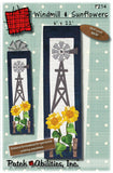 Windmill and Sunflowers Pattern
