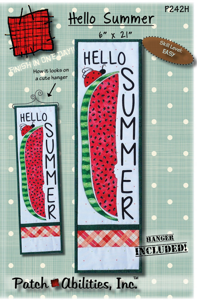 Hello Summer with Hanger