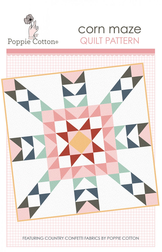 Quilt Pattern Country Confetti Corn Maze