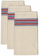 Aunt Martha's Americana Stripe Herringbone Towels