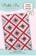 Sugar Pie Quilt In The Hoop Machine Embroidery Design Set CD