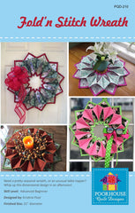Fold'n Stitch Wreath