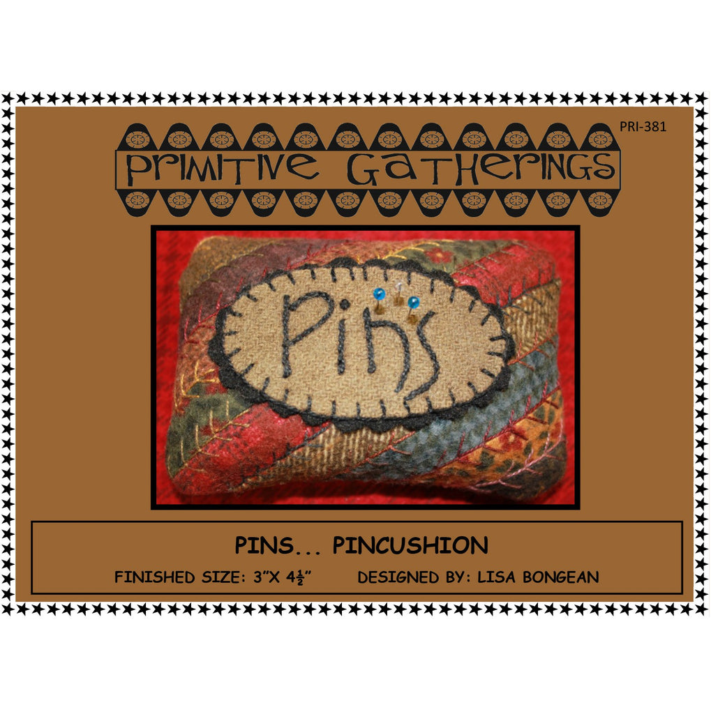 Pins Pincushion