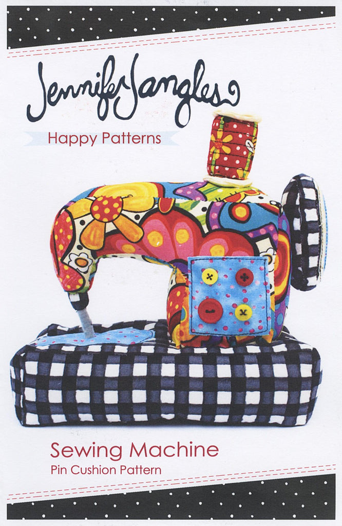 Sewing Machine Pin Cushion Pattern – Quilting Books Patterns and Notions