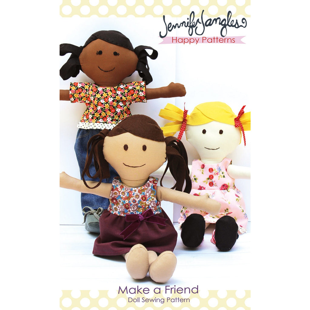 Make A Friend Doll Pattern