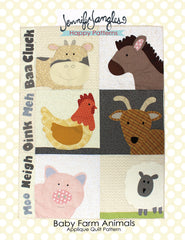Farm Animals Applique Quilt