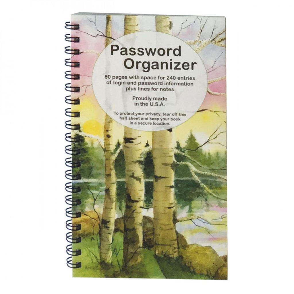 Password Book Birches