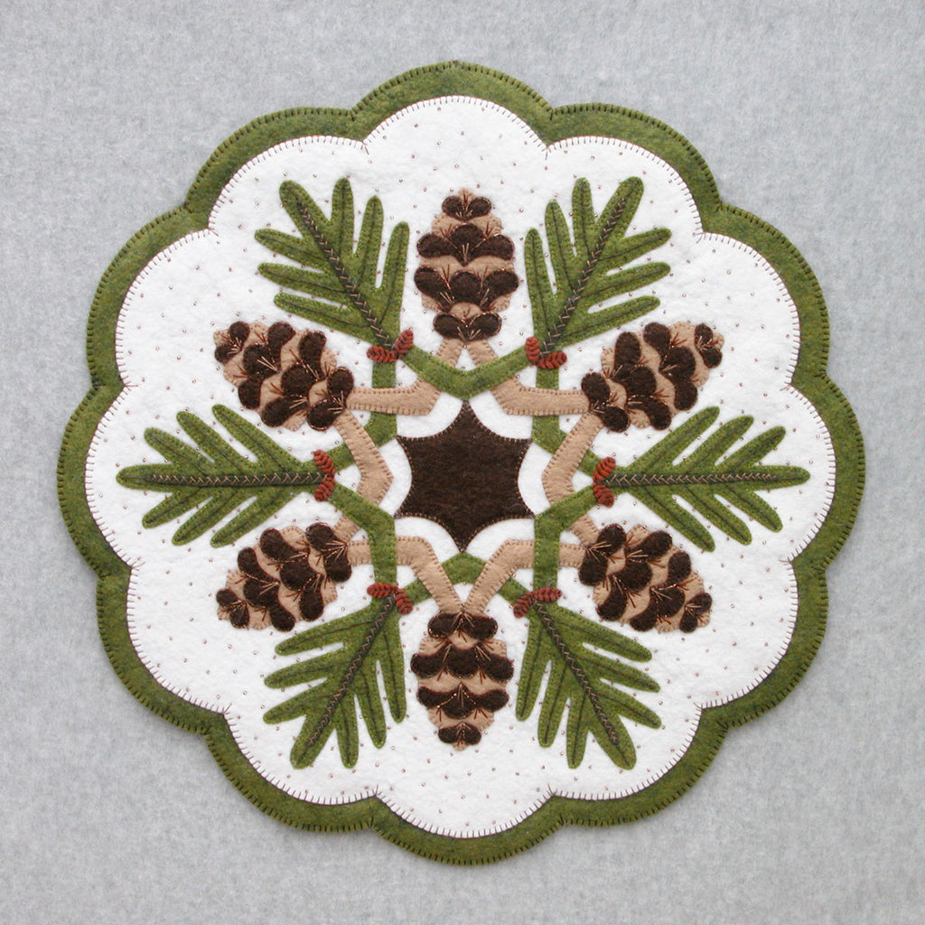 Pine Cones Table Topper