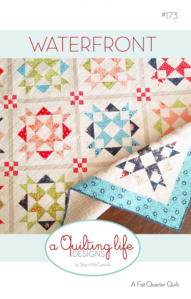Waterfront Quilt Pattern Quilting Books Patterns And Notions