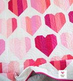Infinite Hearts Quilt Pattern