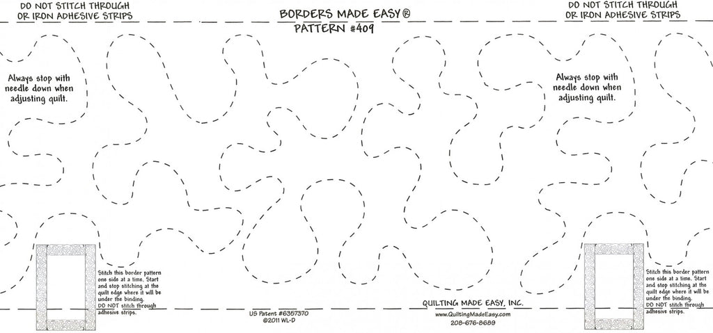 Borders Made Easy Continuous Stipple 5in x 26ft